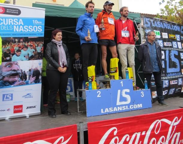 Jaume Domingo i Janeth Becerra guanyen la 31a pujada i baixada a Guanta (Sentmenat) campionat català de muntanya