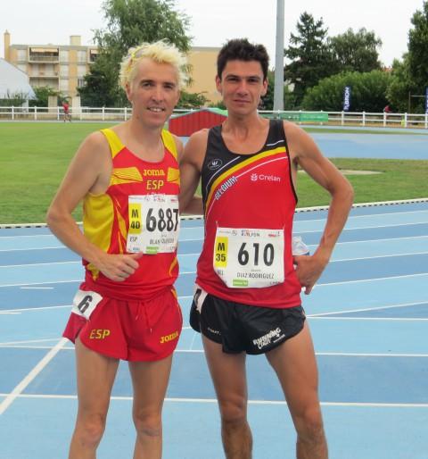 Blanco guanya el 5000mts al mundial máster a Lyon