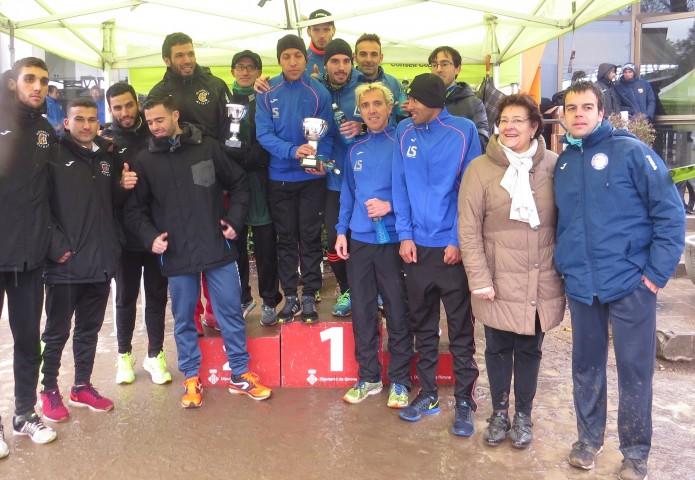 Campeonato catalán de cros Corto en Riudellots