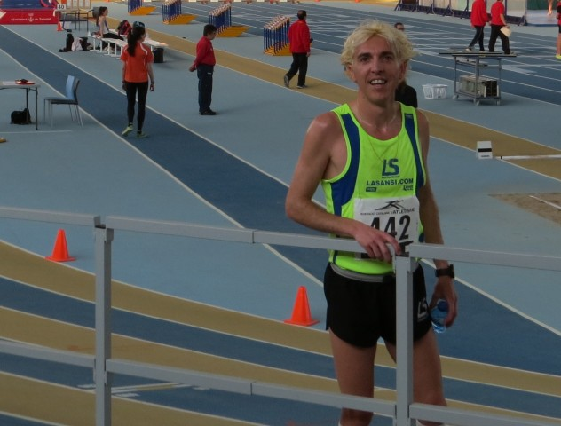 José Luis Blanco récord de Cataluña absoluto de 5.000 metros indoor