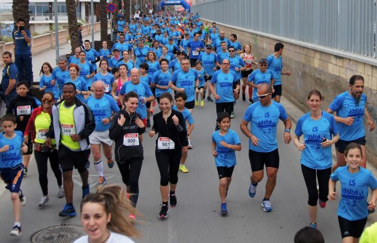Éxito en la 3ª Carrera Popular de El Masnou con más de 800 inscritos