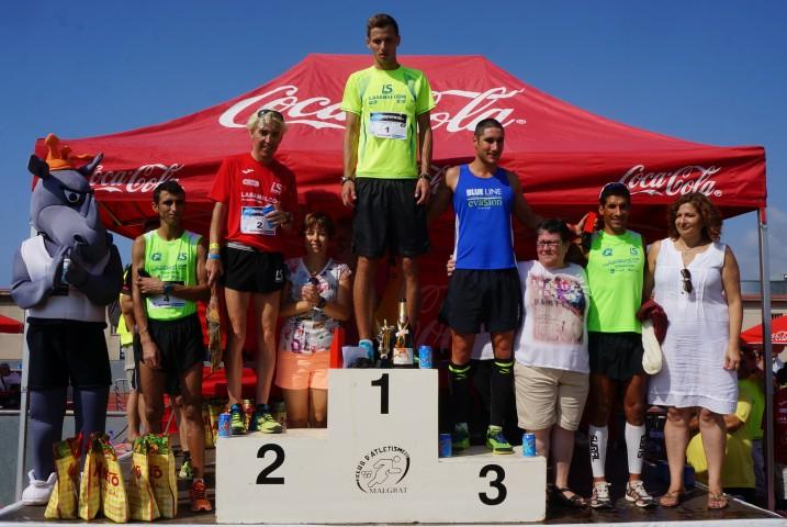 Edgars Sumkis de Letonia i Txell Calduch guanyen una edició record a la XXV Cursa de Malgrat de mar 10km