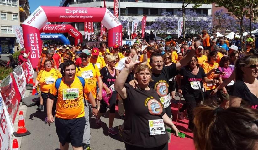 Ya son cerca de 1.000 inscritos en la 2a cursa popular Correos Express Sant Adrià por la Ela de 5 y 10km 04/06/17