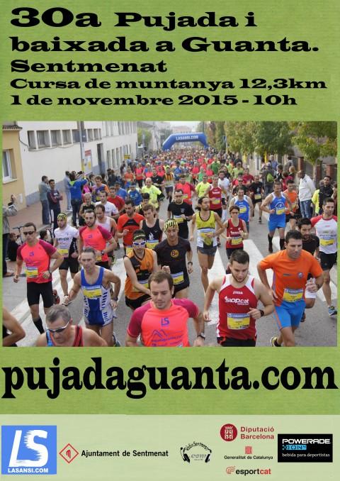 30a Subida y bajada a Guanta (Sentmenat) 12,3km 01/11/15