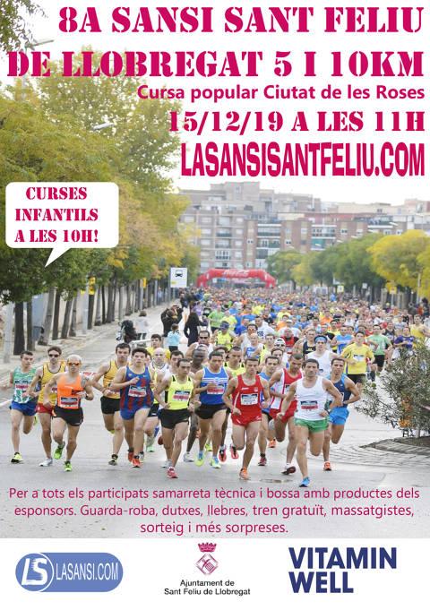 8a Sansi de Sant Feliu de Llobregat de 5 i 10km 15/12/19