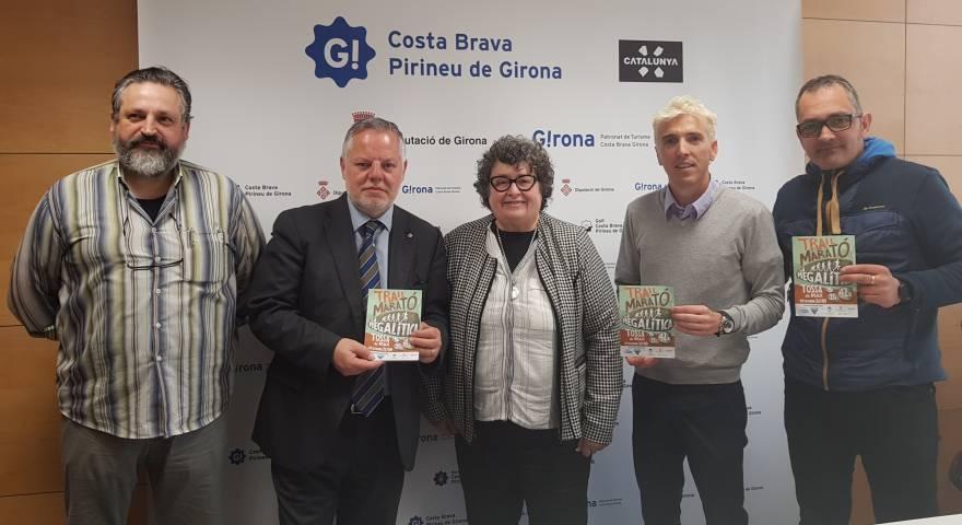 Presentación al Patronato Girona Costa Brava de la 1a Megalítica Tossa de Mar 14/10/18