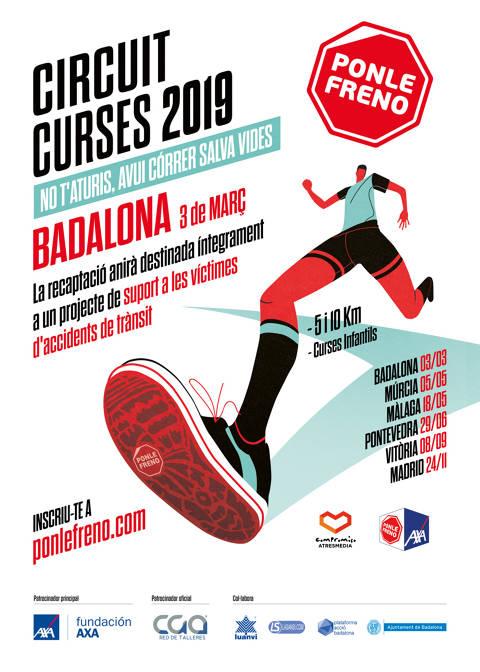 Inscripciones abiertas para la Carrera Ponle Freno de Badalona