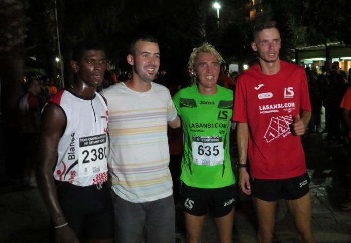 Blanco gana la 33ª edición de la carrera San Bonosi
