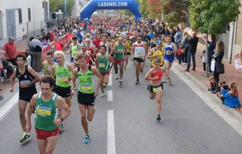 33ª Subida y bajada a Guanta (Sentmenat) 12,3km 04/11/18 campeonato Catalán absoluto y veterano carreras de montaña