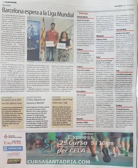 Mundo Deportivo 30/05/17