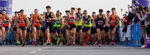 Inscriptions sold out, in just over 3 days, for the 41st San Silvestre del Masnou