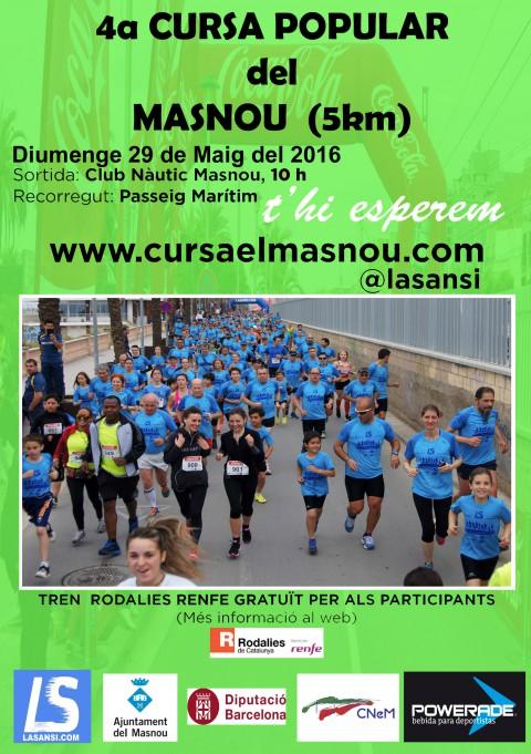 Inscripcions obertes a la 4a Cursa popular del Masnou