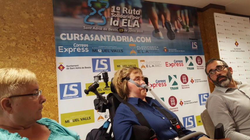 Presentació 1a Ruta Solidària por la ELA