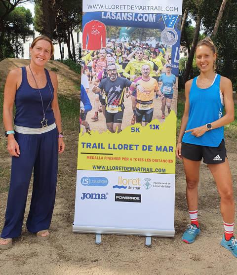 Sheila Avilés, una de les millors corredores del mòn, i l'Olímpic Àngel Mullera, participará a la 2ª Lloretrail