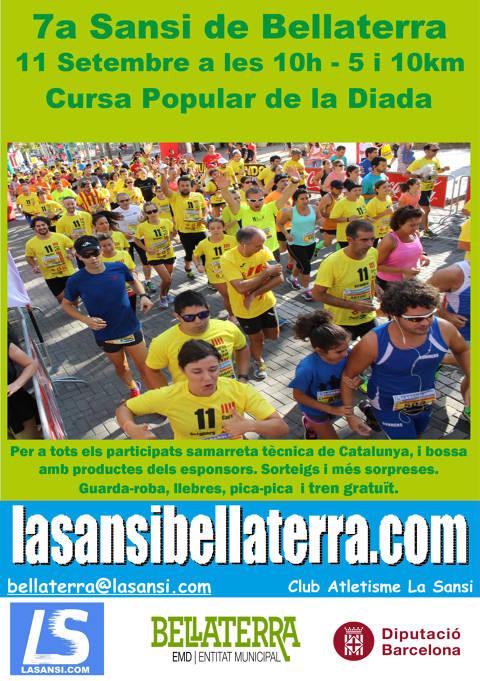 7ª Sansi popular de la diada en Bellaterra 11/09/18