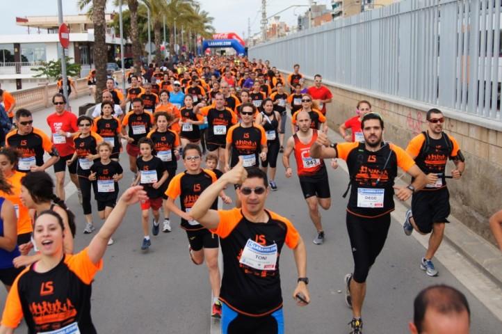Éxito en la 2 ª Carrera Popular del Masnou con 1.000 participantes