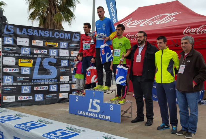 Edgars Sumskis y Claudia Luna vuelven a ganar la Sansi de Mataró
