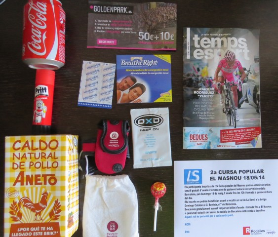 2a cursa popular del Masnou de 5km 18/05/14