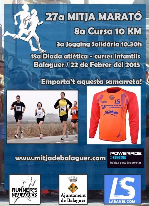 Media Maratón, 10km y carrera solidaria de Balaguer